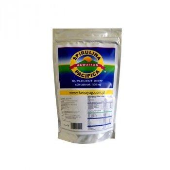 Spirulina Pacifica Cyanotech 600 tabletek