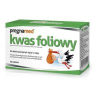 Pregnamed Kwas foliowy dla kobiet planujących ciążę i w ciąży