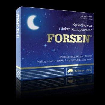 Forsen ułatwia odprężenie wyciszenie poprawia jakość snu