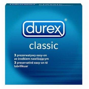 Prezerwatywy DUREX Classic ze środkiem nawilżającym
