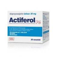 Actiferol Fe 30 mg żelazo dla niemowląt i dzieci w saszetkach