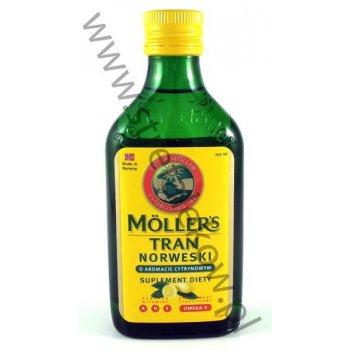 MOLLERS Tran norweski o smaku cytrynowym