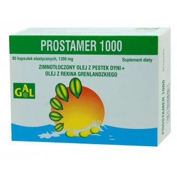 Prostamer 1000 na prostatę olej z pestek dyni i z rekina grenlandzkiego