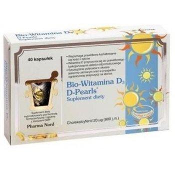 Bio-Witamina D3 D-Pearls 20 µg mocne kości i zdrowe zęby