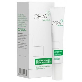 CERA+ Solutions Żel punktowy do skóry trądzikowej