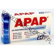 Apap 24 tabletki