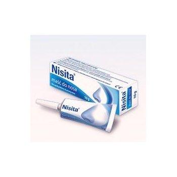 Nisita maść do nosa nawilża i oczyszczą błonę śluzową nosa