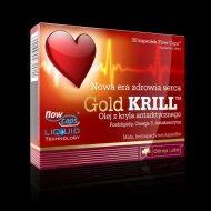 Gold KRILL olej z kryla fosfolipidy omega 3 astaksantyna Olimp Labs