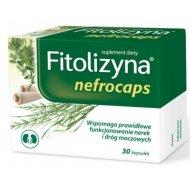 Fitolizyna Nefrocaps wspomaga pracę nerek i dróg moczowych