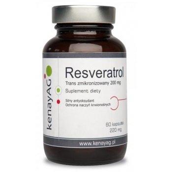 Resveratrol trans Zmikronizowany 60 kapsułek