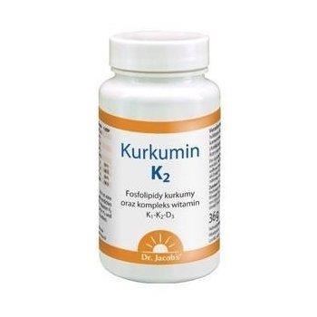 Kurkumin K2 witamina K2 dla serca, naczyń, kości i układu odpornościowego Dr. Jacob's
