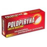 Polopiryna 500 tabletki dojelitowe 20 tabletek