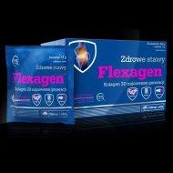 Flexagen kolagen typu drugiego i hydrolizat kolagenu w saszetkach
