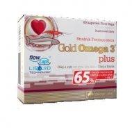 Gold Omega 3 PLUS olej z ryb i z kryla Olimp Labs