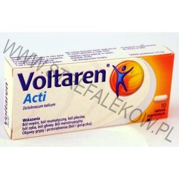 Voltaren ACTI 10 tabletek