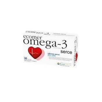 Ecomer Omega-3 Serce wspiera prawidłowe funkcjonowanie serca