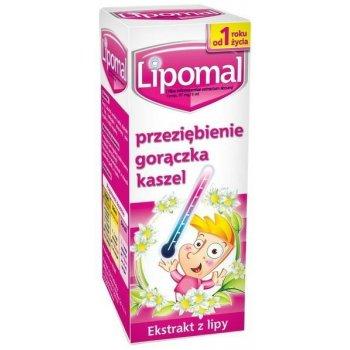 Lipomal syrop na przeziębienie, kaszel i gorączkę