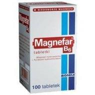 MAGNEFAR B6 uzupełnia dietę w magnez i witaminę B6