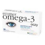 Ecomer Omega-3 Oczy wspomaga prawidłowy wzrok