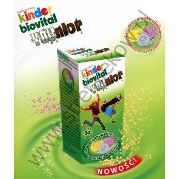 Kinder Biovital YOUnior Multiwitamina dla dzieci szkolnych