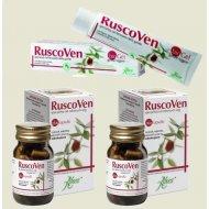 Aboca RuscoVen kapsułki 2 opakowania + żel GRATIS