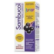 Sambucol Junior syrop dla dzieci na przeziębienie i grypę