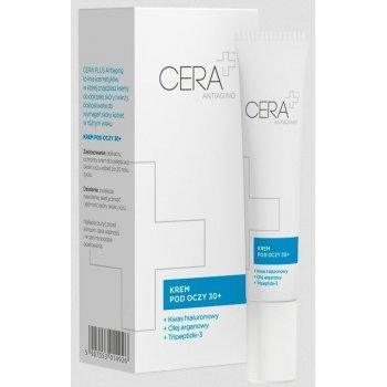 CERA+ Antiaging Krem pod oczy 30+ z kwasem hialuronowym