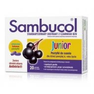 Sambucol Junior pastylki do ssania