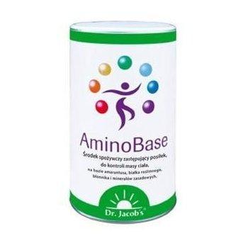AminoBase zastępuje posiłek w celu kontroli masy ciała Dr. Jacob's