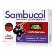 Sambucol Extra Strong kapsułki dla dorosłych na przeziębienie, grypę i odporność