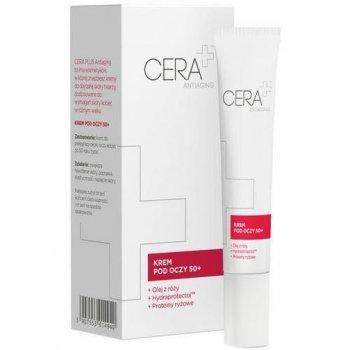CERA+ Antiaging Krem pod oczy 50+ z olejem z róży