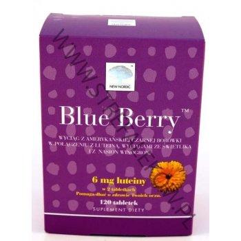 Blue Berry Plus lepszy wzrok 120 tabletek