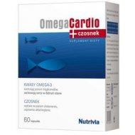 OmegaCardio+Czosnek obniża poziom trójglicerydów i cholesterolu