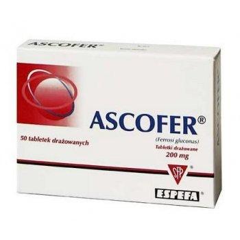 Ascofer żelazo w dobrze przyswajalnej postaci
