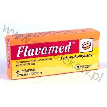 Flavamed tabletki wykrztuśne