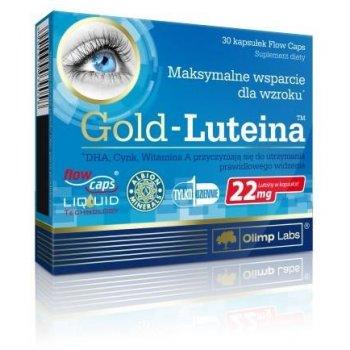 Gold Luteina maksymalne wsparcie dla oczu Olimp Labs