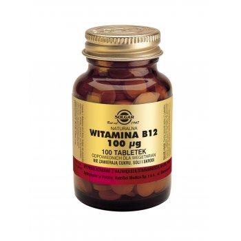 Solgar Naturalna Witamina B12