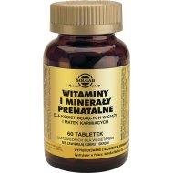 Solgar Witaminy i minerały prenatalne dla kobiet w ciąży i karmiących