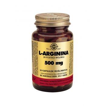 Solgar L-arginina 500 mg