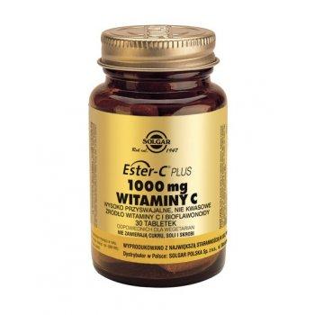 Solgar Witamina C Ester-C 1000 mg w tabletkach