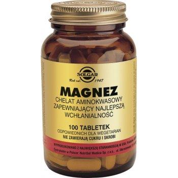 Solgar Magnez Chelat Aminokwasowy