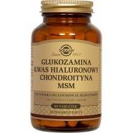 Solgar Glukozamina Kwas Hialuronowy Chondroityna MSM Kompleks