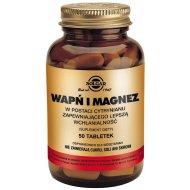 Solgar Wapń i Magnez 50 tabletek