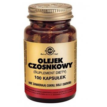 Solgar Olejek Czosnkowy w kapsułkach
