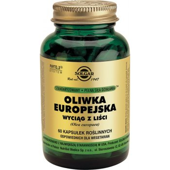 Solgar Oliwka Europejska ekstrakt z liści