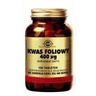 Solgar Kwas Foliowy Hipoalergiczny Strefa Lekow