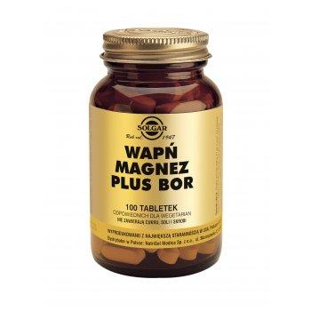 Solgar Wapń Magnez plus Bor