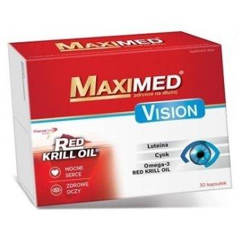 Maximed Vision na mocne serce i zdrowe oczy