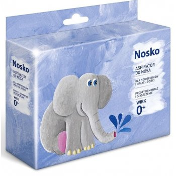 Nosko Aspirator do nosa dla niemowląt od 1. dnia życia