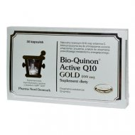 Bio-Quinon Active Q10 GOLD 100 mg koenzymu Q10 Pharma Nord
